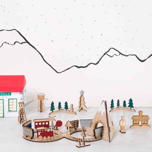 Kids-advent-calendar-wooden-trainset