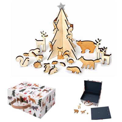 Wooden-woodlands-advent-calendar-australia-kids