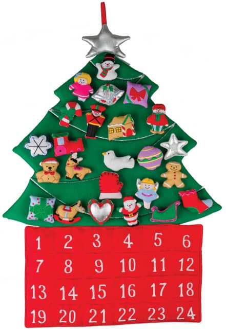 Fabric-christmas-tree-advent-calendar