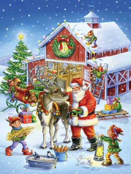 Kids-Christmas-jigsaw-puzzle-reindeer