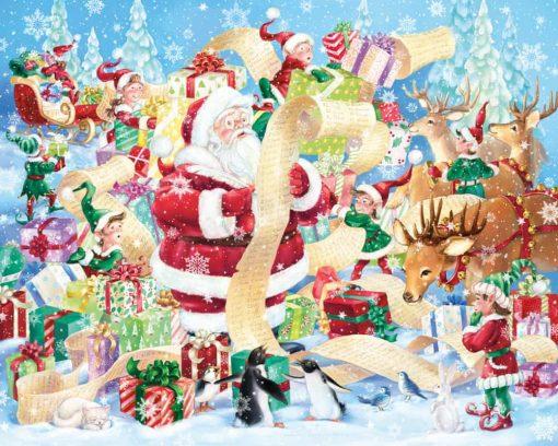 Christmas-jigsaw-puzzle-santas-list
