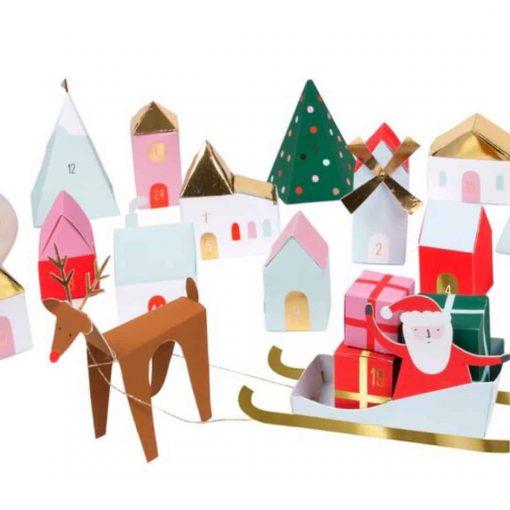 Advent-calendar-3D-christmas-village