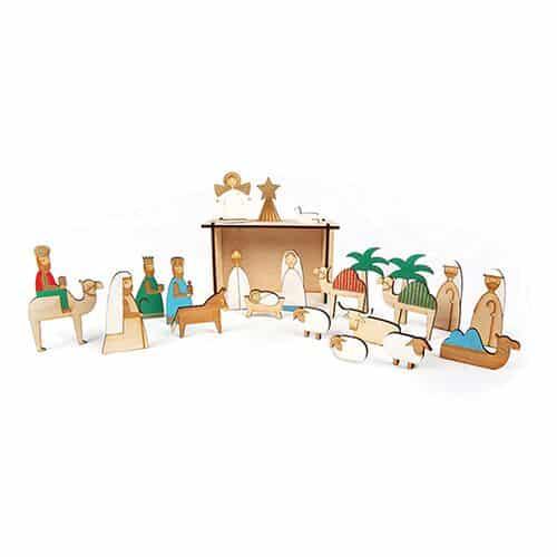 advent-calendar-nativity-wooden