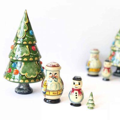 Christmas-tree-babushka-doll-set