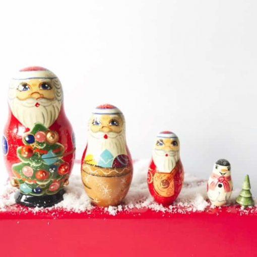 Nesting-babushka-dolls-christmas-santa-snowman-tree