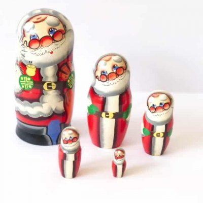 Christmas-babushka-santa-5-dolls