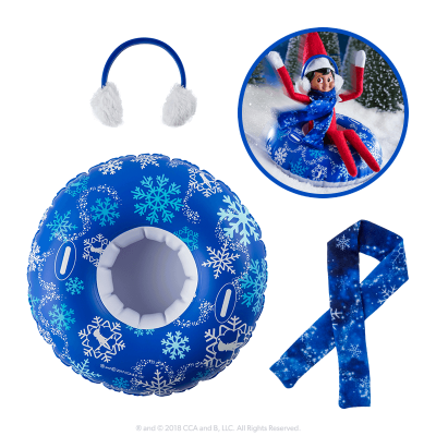 elf-on-the-shelf-props-floating-tube-scarf-earmuffs