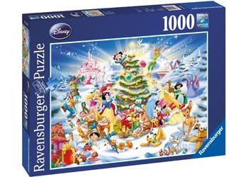 Kids-Ravensburger-christmas-puzzle-disney-1000-piece