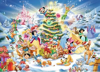 Kids=Christmas-Eve-DIsney-jigsaw-puzzle