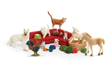 Schleich-advent-calendar-2018-farm-world-contents