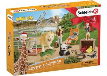 Kids-advent-calendar-Schleich-Wildlife-2018