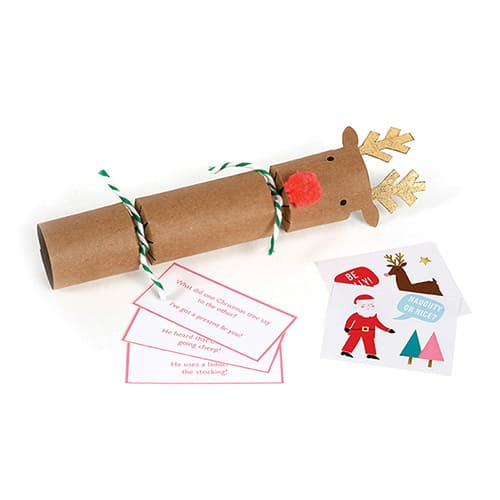 Christmas Crackers Cartoon.Reindeer Christmas Crackers Small