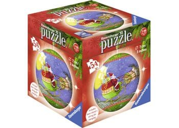 Kids-christmas-jigsaw-puzzle-ornament-santa