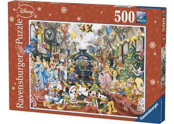 Kids-jigsaw-puzzle-disney-christmas-train-500-piece