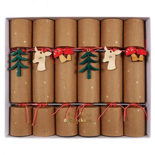 Christmas-crackers-woodland-theme-bon-bons