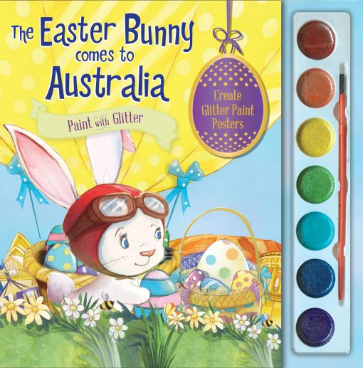 Kids-easter-activity-book-easter-bunny-glitter-paint