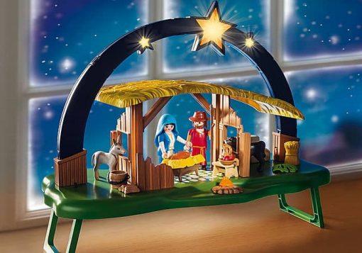 Playmobil-light-up-Nativity-Manger-Scene-9494
