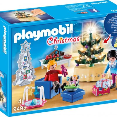 Playmobil-Christmas-Living Room-9495