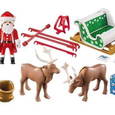 Playmobil-australia-christmas-santas-sleigh-reindeer