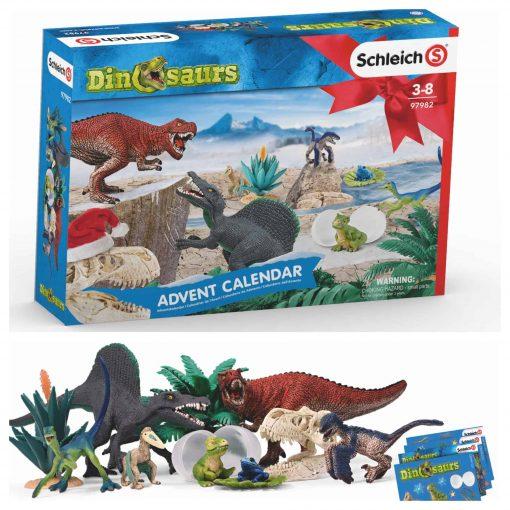 Schleich-Advent-calendar-dinosaurs-97982