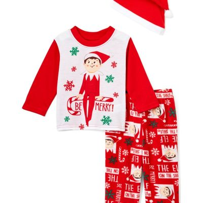 kids-christmas-pajamas-elf-on-the-shelf-australia