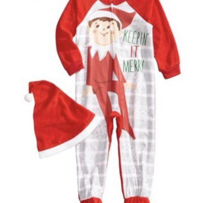 kids-elf-on-the-shelf-pajamas-onesie-australia