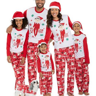 family-christmas-pajamas-elf-on-shelf-australia