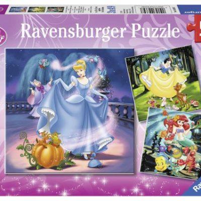 Kids-cinderella-snow-white-ariel-puzzle
