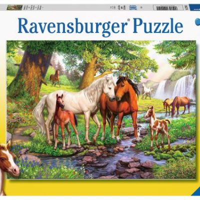 Kids-puzzles-animals-horses-australia