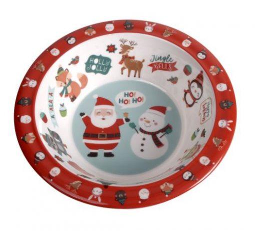 Kids-Christmas-bowl-australia-melamine